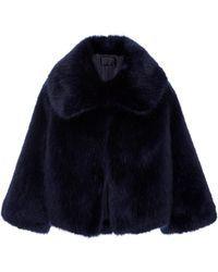 Nili Lotan | Garbo Faux Fur Coat | Lyst