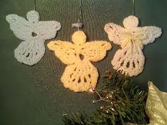 Crochet is the Way: Free Pattern: Angel Decoration