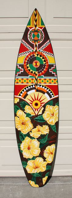Southwest MeetsTropical- Surfboard Art on Behance