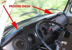 Dash Padded, Bus ' 68- ' 79, New  Item Number: 211857051C Price: $199.99 This is only for the padded dash grab handle not included. #aircooled #combi #1600cc #bug #kombilovers #kombi #vwbug #westfalia #VW #vwlove #vwporn #vwflat4 #vwtype2 #VWCAMPER #vwengine #vwlovers #volkswagen #type1 #type3 #slammed #safariwindow #bus #porsche #vwbug #type2 #23window #wheels #custom #vw #EISPARTS