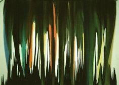 "Morris Louis ""Ambi IV"" acrylic resin on canvas 98"" x 132 1/2"" 1959"