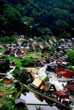 Historic Villages of Shirakawa-go, Gifu, Japan by sheryl