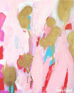 Color Study No. 15 Original Abstract Acrylic by emmyrickard, $110.00