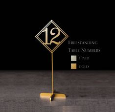"""Sale Freestanding Table Numbers Gold Table numbers Weding Numbers Numbers – Please Enter your phone number in the """"NOTE to the seller"""" – Colored Contacts Bloğ Wedding Place Names, Wedding Place Settings, Rustic Table Numbers, Wedding Table Numbers, Wedding Decor, Wedding Reception Tables, Gold Table, Colored Contacts, Custom Cake Toppers"""