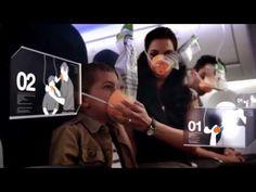 ** Use for air travel unit ** Spanish and English Video de seguridad Aeroméxico