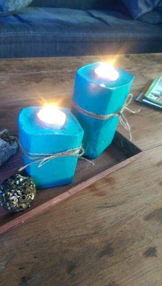Beton Kerzenständer