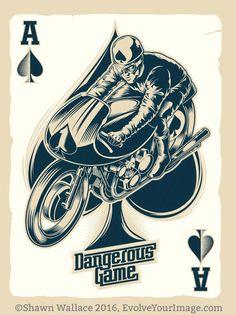 Ace #illustration #design #motorcycles #motos | caferacerpasion.com