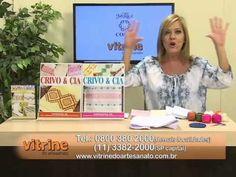 Toalha de Lavabo com Leila Jacob e Flores Campestres com Luis Moreira | Vitrine do artesanato na TV - YouTube