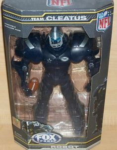LICENSED NFL & FOX SPORTS TEAM CLEATUS ROBOT- DALLAS COWBOYS COLLECTIBLE NIB $29.99