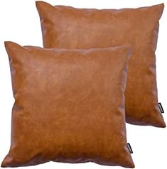FINEASY Set of 2 Throw Pillow Covers Decorative Cushion Cases for Home//Couch//Sof