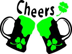 23755a96db6 Cute t shirt designs - Cheers green beer shamrock st.patrick s day tshirt  Green Beer