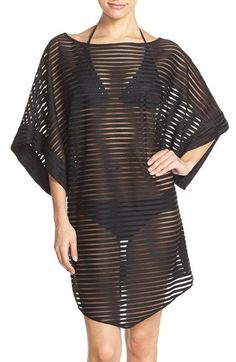 bdc993826b Ted Baker London Shadow Stripe Mesh Cover-Up Caftan Ted Baker Fashion,  Beach Cover