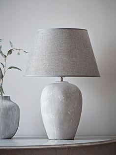 NEW Bari Concrete Table Lamp - Table Lamps - Lamps & Lights - Lighting Room Lamp, Desk Lamp, Table Lamps, Luxury Lighting, Modern Lighting, Light Fittings, Light Fixtures, Chandeliers, Chandelier Design
