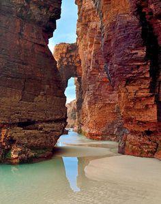 The Most Beautiful Beaches in Spain and Portugal: Playa de Las Catedrales, Galicia, Spain . . . . . der Blog für den Gentleman - www.thegentlemanclub.de/blog