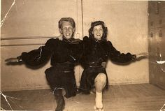 Richard Keith Compton and his partner Oaks Park 1940s . Keith was on of the Top 10 Skater in the country at the time. He had skated most of his life with his friends Ray Comella and Dickey Leroy and worked at the Oaks Park.