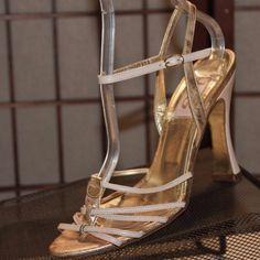 Dolce & Gabbana heels available at 2tymingthreads.com! #dolceandgabbana #gold #pink #leather #designer #fashion #summer #nightout #shopping #heels #sandals