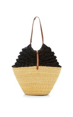 Lima Straw and Crochet Bag