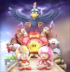 Advance! Captain Toad by Alcyone