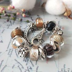 Pandora Essence, Troll Beads, Bangles, Bracelets, Lampwork Beads, Jewelery, Pearl Earrings, Gems, Fashion