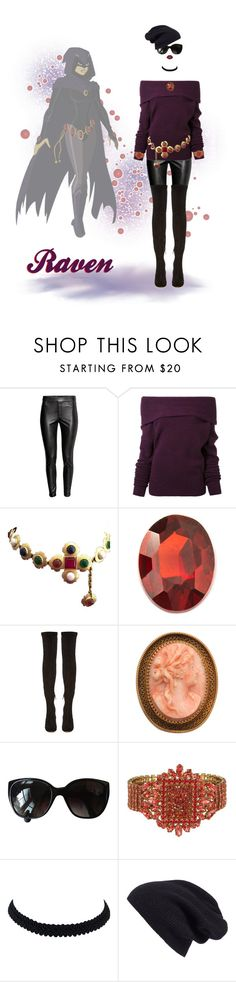 """Fashion Inspired by Raven"" by kbarkstyle ❤ liked on Polyvore featuring Le Ciel Bleu, Chanel, Loquet, Nicholas Kirkwood, Otazu, Halogen and Lime Crime"