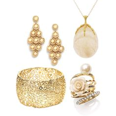 Pink & Gold Elegance, created by katrina862011 on Polyvore