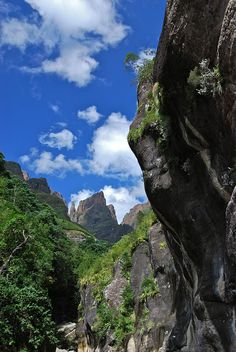Tugela Gorge, The Drakensberg, South Africa