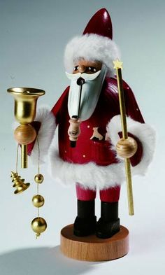 Santa will be here in almost less than two month! Be prepared, order now!    Smoker Santa Claus - 18 cm / 7 inch $60.00 plus shipping