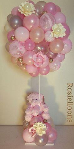 Balloon Arrangements, Balloon Centerpieces, Balloon Flowers, Balloon Bouquet, Birthday Balloon Decorations, Baby Shower Decorations, Balloons And More, Balloon Gift, Balloon Columns