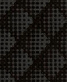 Graham & Brown Flock Braille Chester Black - Marcel Wanders 30-986 Pattern
