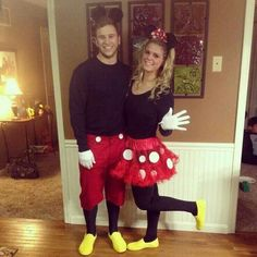 Mickey and Minnie couples outfit