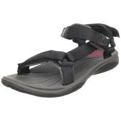 Teva Womens Pretty Rugged Nylon 3 SandalBlack55 M US * Click image to review more details.(This is an Amazon affiliate link and I receive a commission for the sales)
