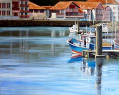 Nathalie ARMAND -Ciboure le port