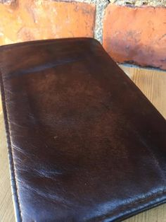 leather/wallet/passport/holder/1960's by WifinpoofVintage on Etsy