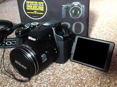 Nikon COOLPIX P520 18.1 MP Digital Camera - Black
