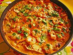 Brazilian fish pan with rice (recipe with picture) Chefkoch.de Brazilian fish pan with rice (recipe with picture) Chefkoch. Shrimp Recipes, Salmon Recipes, Fish Recipes, Asian Recipes, Beef Recipes, Healthy Recipes, Ethnic Recipes, Rice Recipes For Dinner, Vegetable Drinks