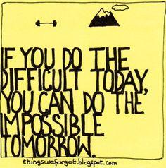 effort = progress