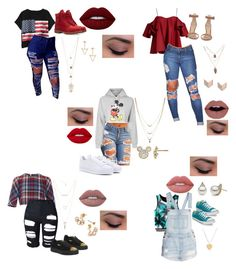 """Just another day"" by ariel0731 ❤ liked on Polyvore featuring Chicnova Fashion, Anna October, Topshop, Thom Browne, Gianvito Rossi, Timberland, Converse, adidas, Puma and Seoul Little"