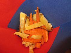 Zelf groente chips maken