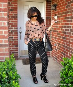 {Weekly Wear} Polka Dot #outfit #style #fashion #blog #fashionblogger #ootd