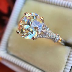 2.25Ct Brilliant White Moissanite Engagement Wedding Ring in 14K Rose Gold Over | Jewelry & Watches, Engagement & Wedding, Engagement Rings | eBay!