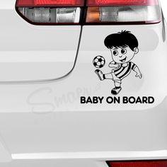 Alege stickerul auto Sticker Auto baiat cu minge fotbal pentru decorarea masinii tale si aranjeaza-le intr-un mod creativ. Masina ta va iesi in evidenta in trafic. #stickerauto #STICKERAUTO #stickerauto #stickerautopersonalizat #stickerpersonalizat #stickerbaby #stickerbabyonboard #stickerautobaiat #babyonboard #autocolantauto #autocolantbaieti #autocolantbebe #babyonboard #decorauto #stickerdecorayto #babyonboardvinyldecal #stickermiculfotbalist #micfotbalist #stickerautofotbalist #baiat Sticker Auto, Car Decals, Vinyl Decals, Boards, Stickers, Creative, Baby, Planks, Car Decal