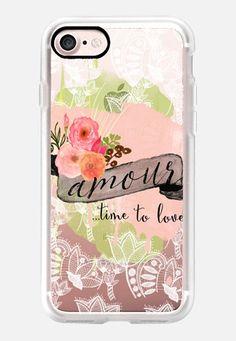 Casetify iPhone 7 Classic Grip Case - Amour by Li Zamperini Art #Casetify