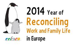 Logo of the 2014 Year of Reconciling Work and Family Life in Europe