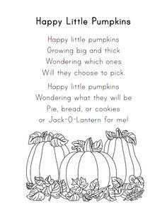 halloween poems pumpkins