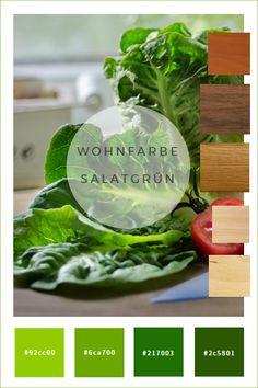 Farbkonzepte: Wandfarbe Grün   Wände In Salatgrün