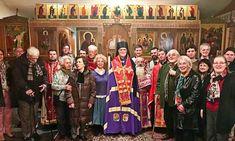 Hier notre petite paroisse a eu l'immense joie et le grand honneur de la visite pour la divine liturgie des Présanctifiés du Mercredi Saint de Mgr Borys Gudziak, évêque des Gréco-Catholiques ukrainiens de France, du Bénélux et de Suisse.