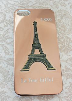 iPhone 5 Case  Paris Tower iPhone5 Case  Bronze or by POPStation, $18.00