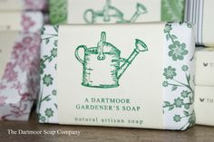 A #Dartmoor Gardener's Soap  natural #artisan soap from the #DSC  www.thedartmoorsoapco.co.uk