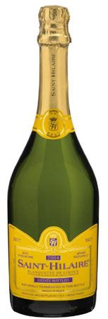St. Hilaire, one of Thomas Jefferson's favorite wines. My favorite from our Champagne tasting last year.