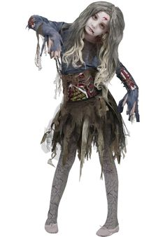 Zombie Girls Costume - Halloween at Escapade